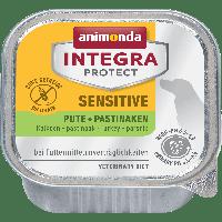 Консервы Integra Protect Sensitive с индейкой и пастернаком для взрослых собак при пищевой аллергии