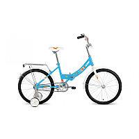 """Велосипед ALTAIR CITY KIDS 20 Compact (20"""" 1 ск. рост 13"""" скл.) 2020-2021, голубой, 1BKT1C201005 /87"""