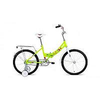 """Велосипед ALTAIR CITY KIDS 20 Compact (20"""" 1 ск. рост 13"""" скл.) 2020-2021, зеленый, 1BKT1C201004"""