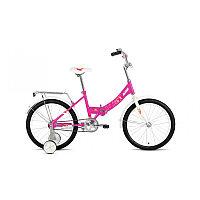 """Велосипед ALTAIR CITY KIDS 20 Compact (20"""" 1 ск. рост 13"""" скл.) 2020-2021, розовый, 1BKT1C201007"""