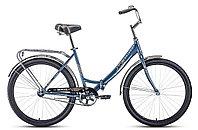"Велосипед FORWARD SEVILLA 26 1.0 (26"" 1 ск. рост 18.5"") 2020-2021, синий/серый, RBKW1C261005"
