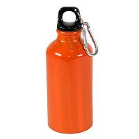 Бутылка для воды с карабином MENTO, 400мл, Оранжевый, -, 7120 06
