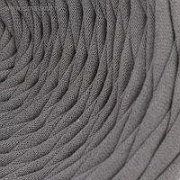 Пряжа трикотажная широкая 100м/320±15гр, ширина нити 7-9 мм (дым)
