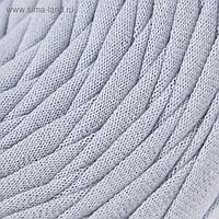 Пряжа трикотажная широкая 100м/320±15гр, ширина нити 7-9 мм (пепельный)