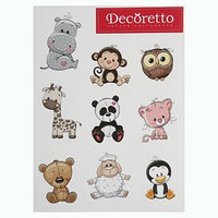 Наклейки Decoretto 'Милые животные'