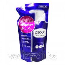 Гель для душа ROHTO Deoco с лактоном, каолином возвращает естественный запах 250 мл