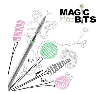 """Фрезы для аппаратного маникюра и педикюра от """"Magic Bits"""""""