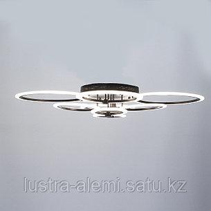 Люстра ЛЭД 6601/4*2 (7017) BK, фото 2