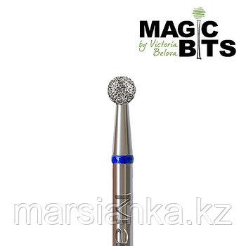 Бор алмазный шар синий 027мм, Magic Bits