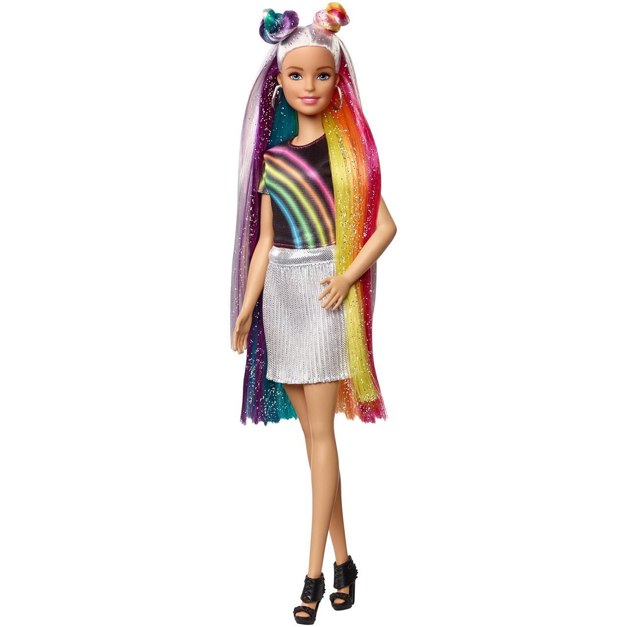 """Barbie """"Радужное сияние волос"""" Кукла Барби Блондинка"""