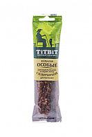 1669 Тит бит, Колбаски Особые с клетчаткой для собак маленьких и средних пород, 30 гр.
