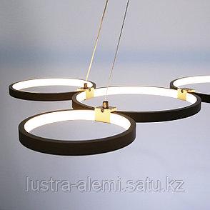 Люстра ЛЭД M 708/6 LED BK, фото 2