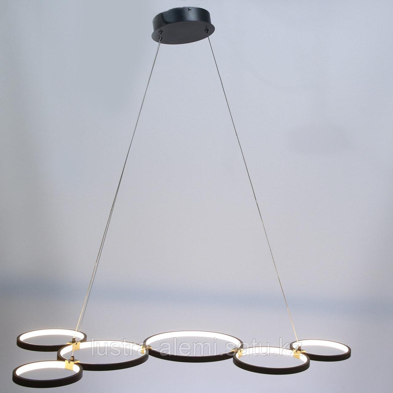 Люстра ЛЭД M 708/6 LED BK