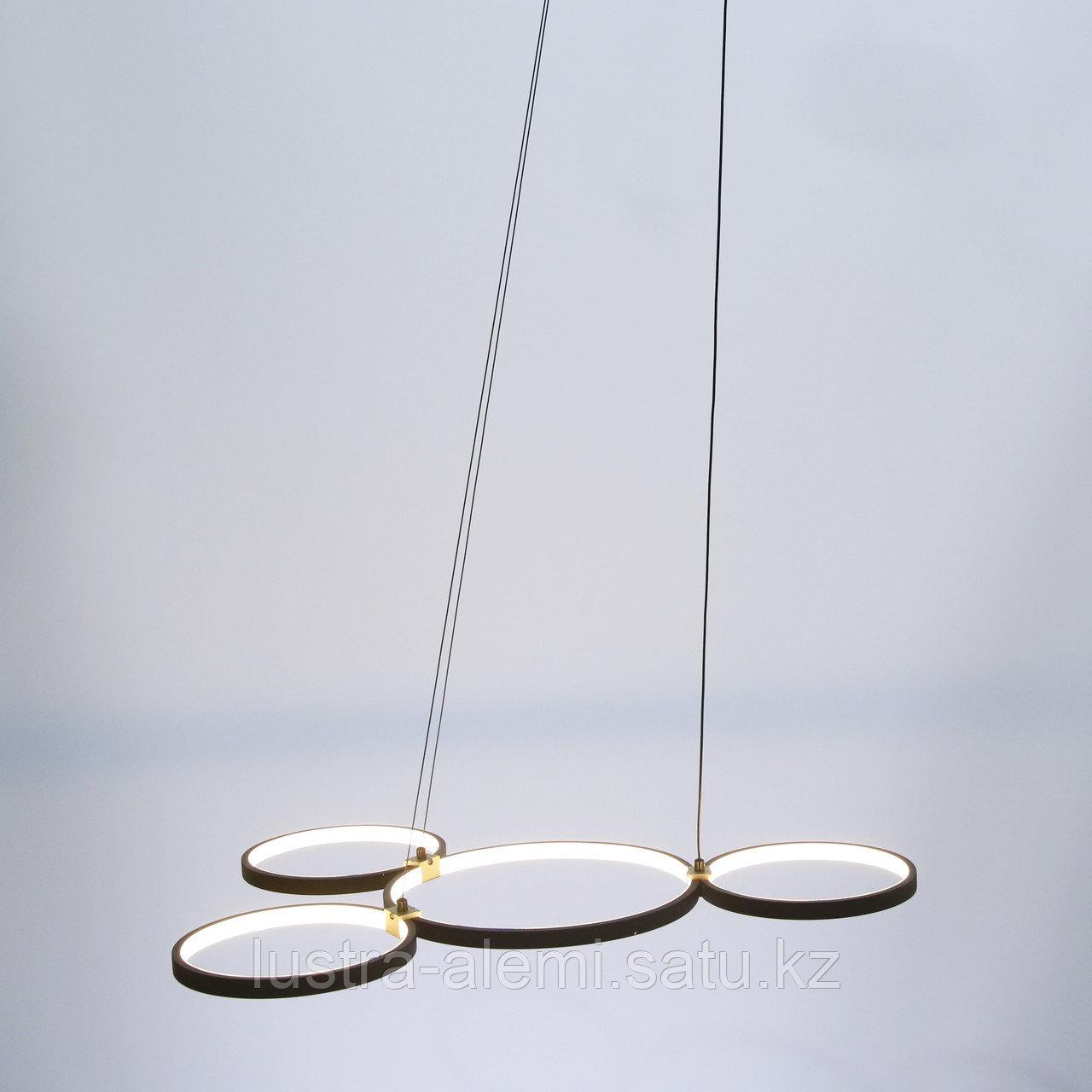 Люстра ЛЭД M 708/4 LED BK