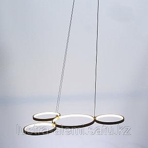 Люстра ЛЭД M 708/4 LED BK, фото 2