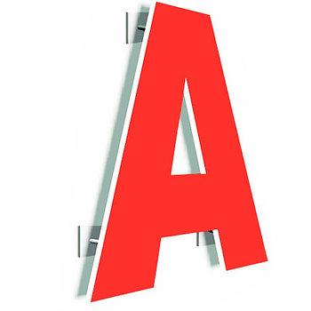 Псевдообъёмные буквы из ПВХ