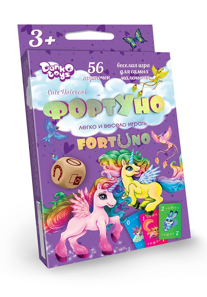 """Игра настольная """"Fortuno Cute.Unicorns"""""""