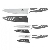 Набор ножей Blaumann BL-5028 grey, 3 ПР (Berlinger Haus, Венгрия)