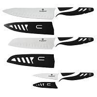 Набор ножей Blaumann BL-5020 black, 3 ПР (Berlinger Haus, Венгрия)