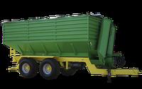 Полуприцеп тракторный перегрузчик ПТП-25 (со сдвигающимся передним бортом) колеса 600/40