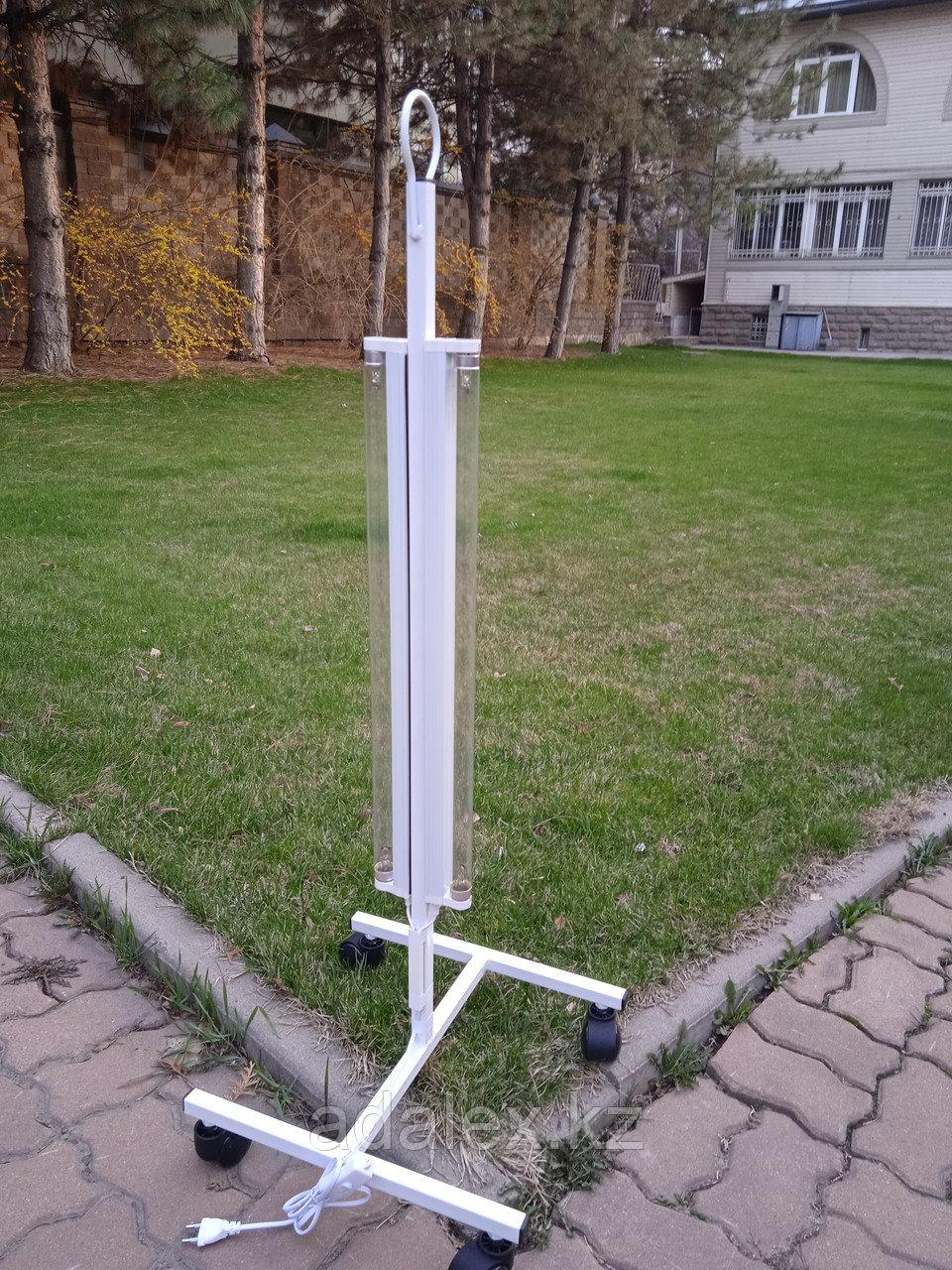Облучатель.Передвижная двухламповая кварцевая лампа - фото 2