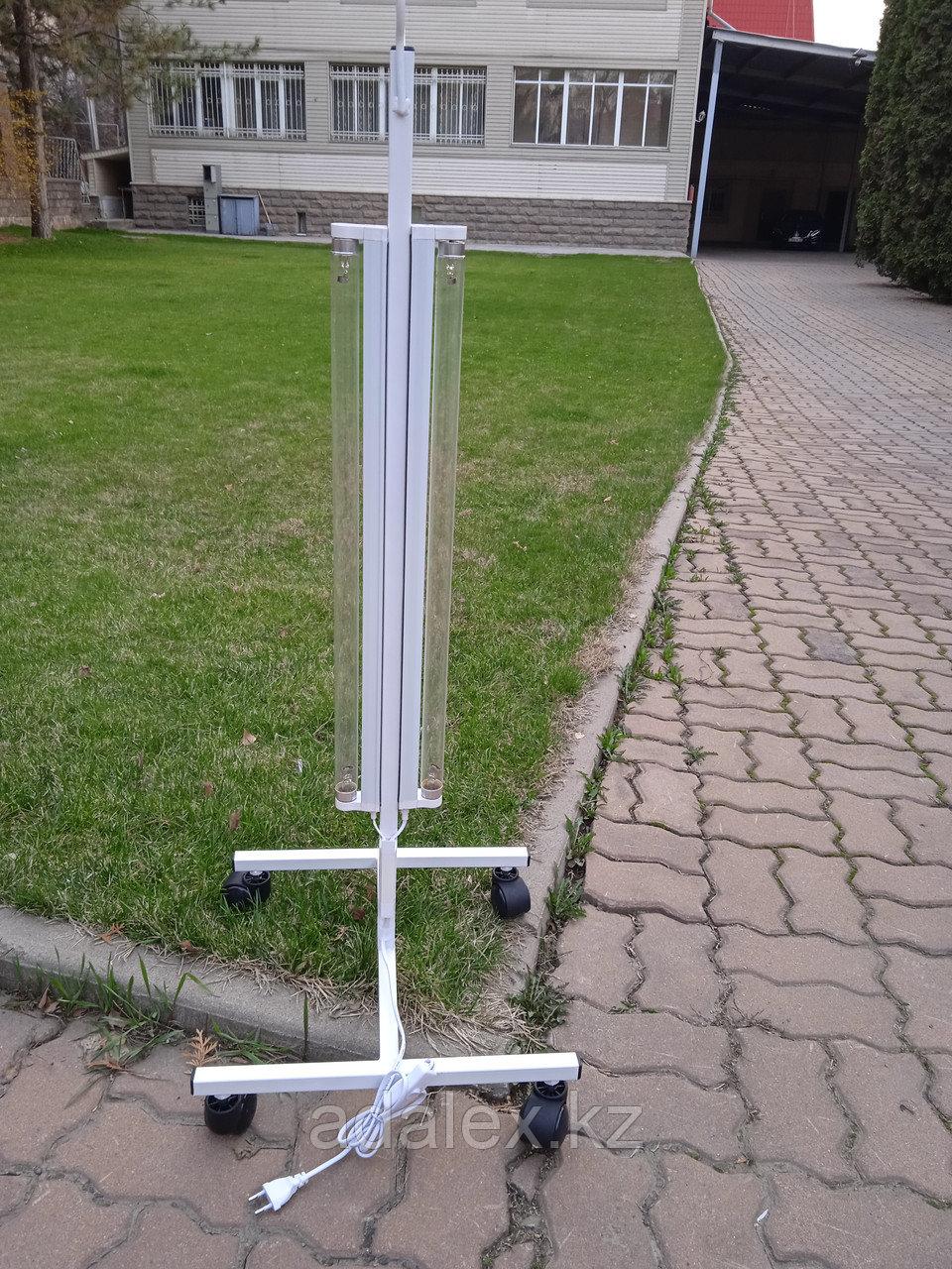 Облучатель.Передвижная двухламповая кварцевая лампа - фото 3