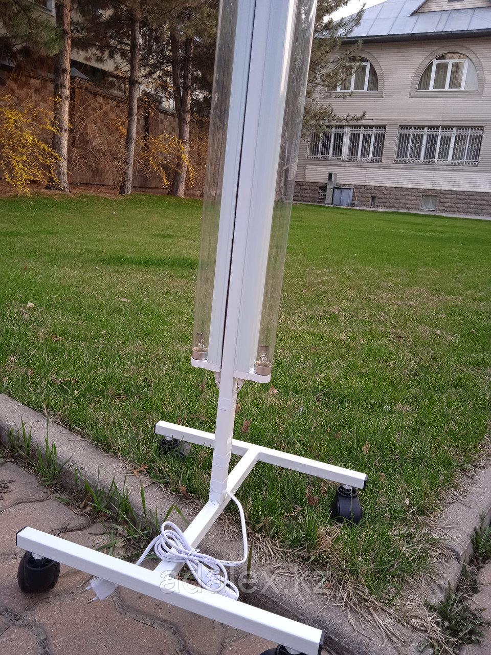 Облучатель.Передвижная двухламповая кварцевая лампа - фото 4