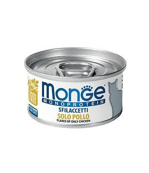 Monge (Монже) Monoprotein Консервы для кошек, Курица