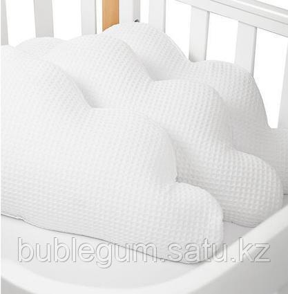 Набор бортиков Облачко Happy Baby 3 шт Белый