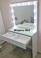 Визажное зеркало с тумбой, модель 5