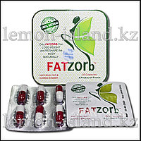 """Капсулы для снижения веса """"FatZorb"""" (ФатЗорб), жестяная упаковка, 36 капс."""