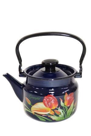 """Чайник эмалированный цилиндр. """"Грациозный"""" 2 литра"""