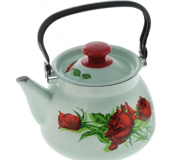 """Чайник эмалированный сферич. """"Андорра"""" 3 литра"""