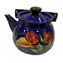 """Чайник эмалированный сферич. """"Грациозный"""" 3,5 литра"""