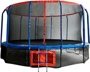 Батут DFC JUMP BASKET с сеткой 16FT-JBSK-B - фото 1