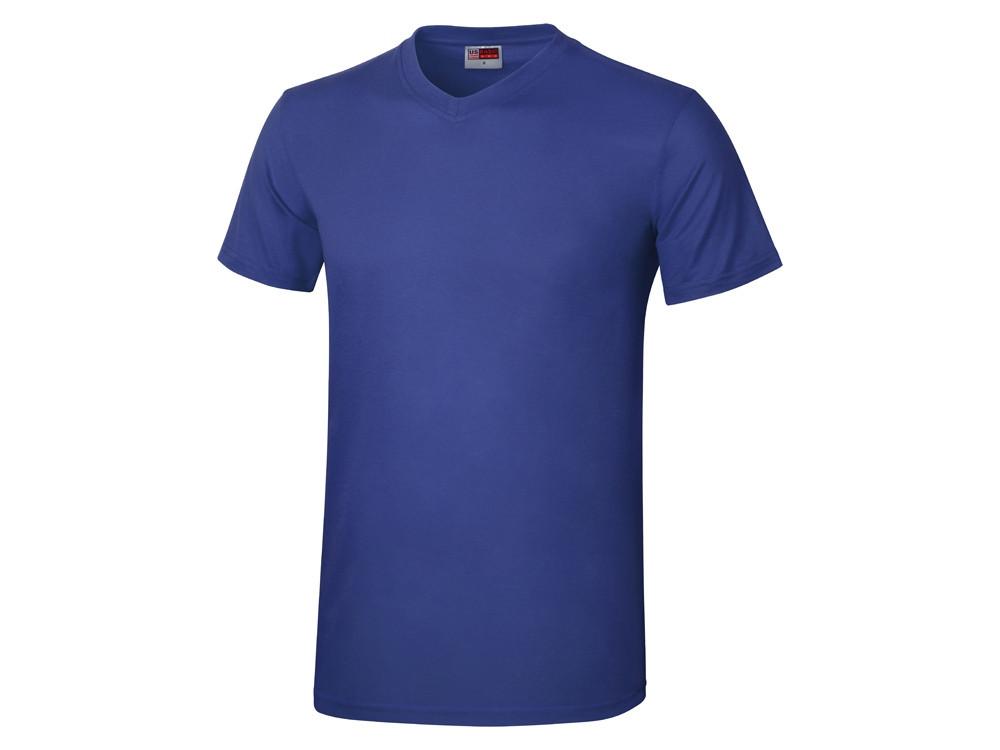 Футболка Heavy Super Club мужская с V-образным вырезом, кл. синий