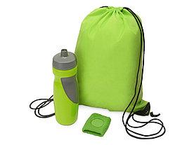 Подарочный набор для спорта Flash, зеленое яблоко