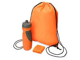 Подарочный набор для спорта Flash, оранжевый