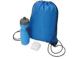 Подарочный набор для спорта Flash, голубой
