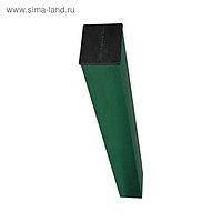 Столб, 60 × 40 × 1.2 мм, h = 2, 5 м, под бетон, зелёный