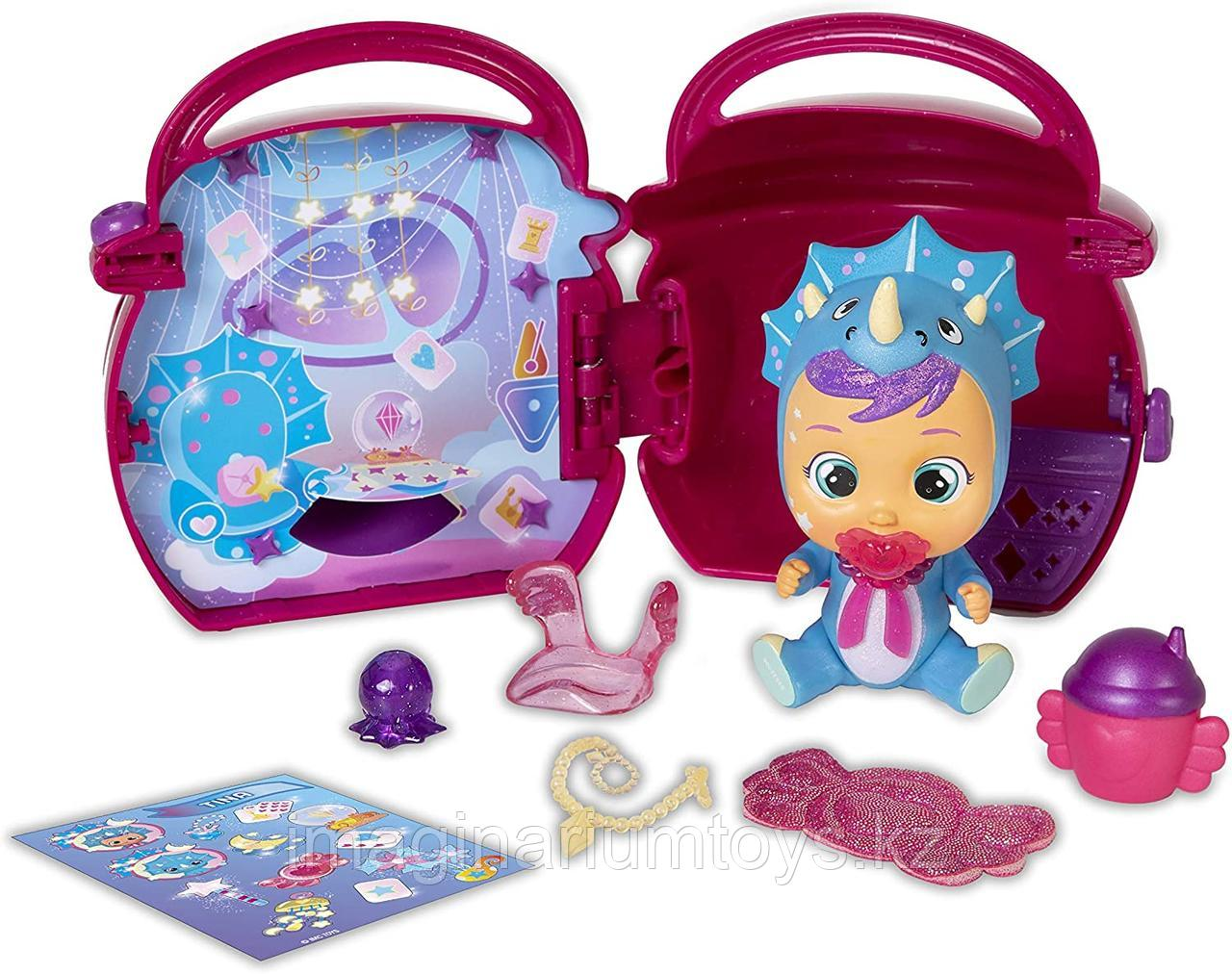 Край Беби плачущая кукла Crybabies Fantasy Paci House с аксессуарами - фото 9