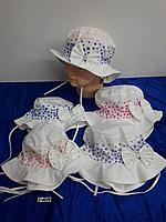 Панамка летняя для новорождённой девочки. Фирма Magrof