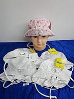 Панамка летняя для новорождённой девочки. Фирма Tomino