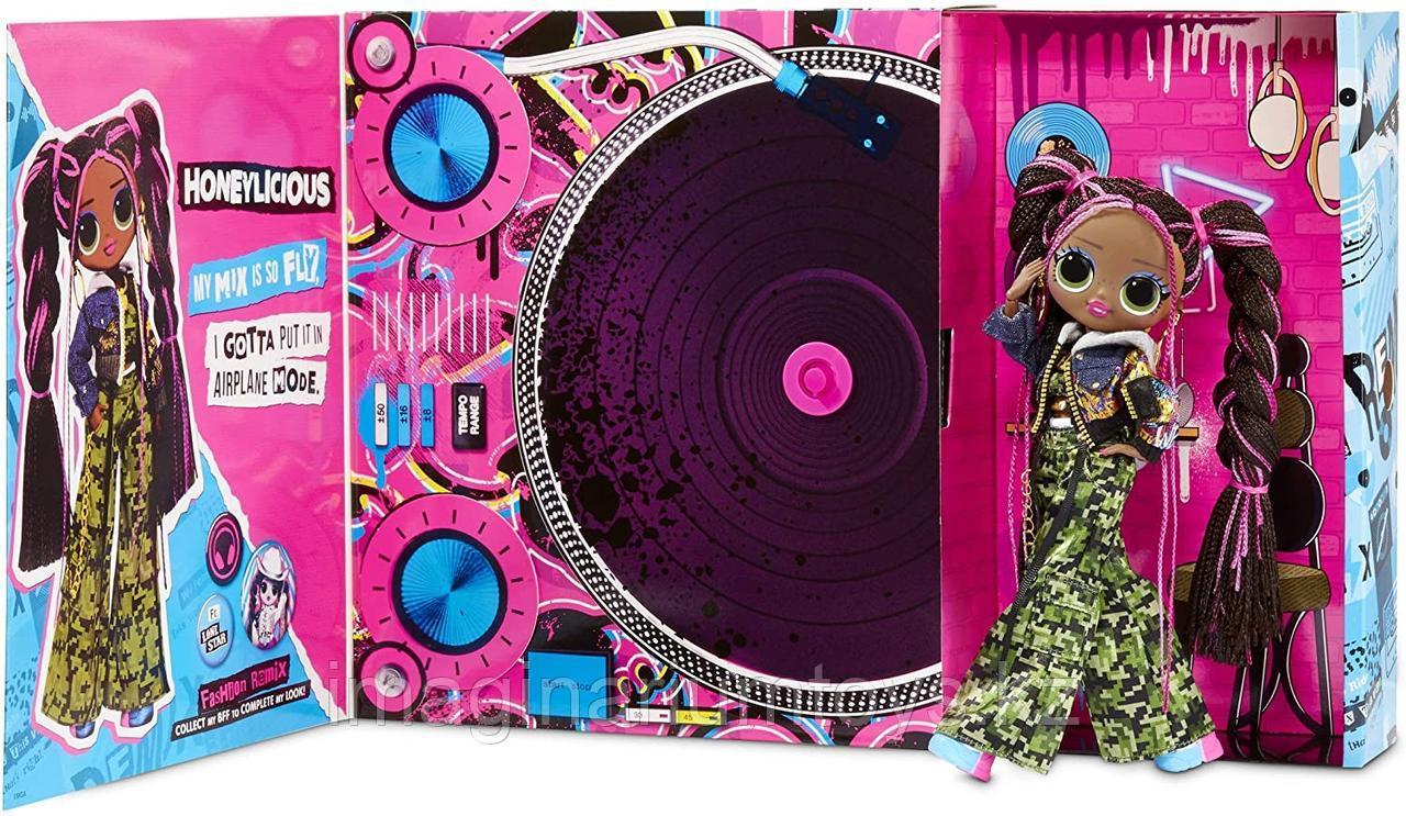 Большая кукла LOL OMG Remix музыкальная Honeylicious - фото 4