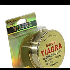 Леска монофильная с флюрокарбоном 100м TIAGRA Диаметры: от 0.16мм до 0.50мм