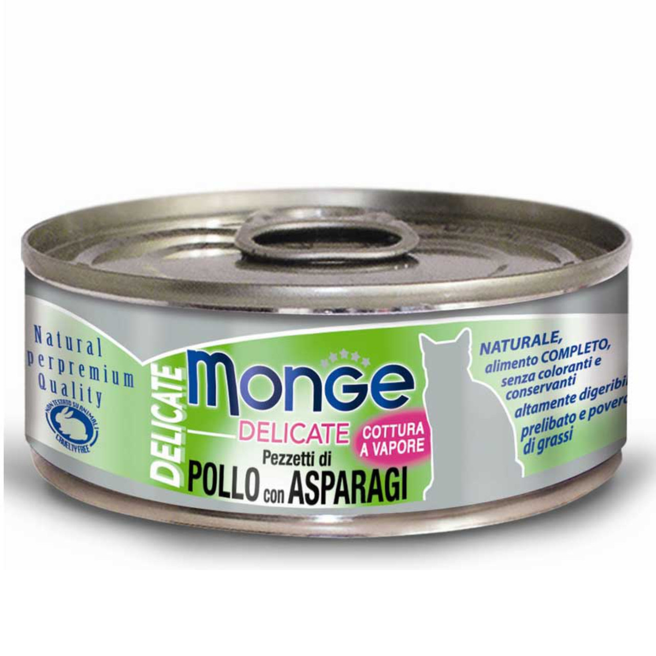 Monge (Монже) Delicate Консервы для кошек, Курица со спаржей