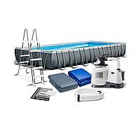 Каркасный бассейн Ultra XTR Frame 975 х 488 x 132 см. Полный комплект