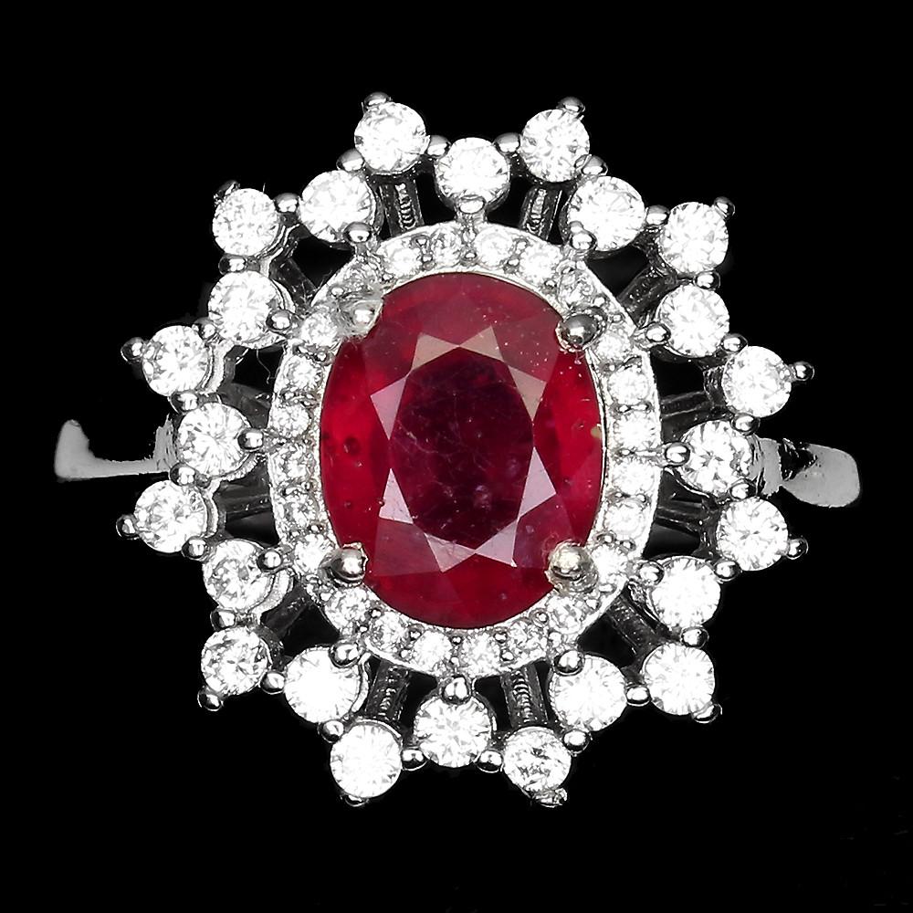 Кольцо с Рубинами. Комплект