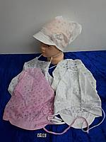 Косынка-шапка летняя для девочки. Фирма Tomino