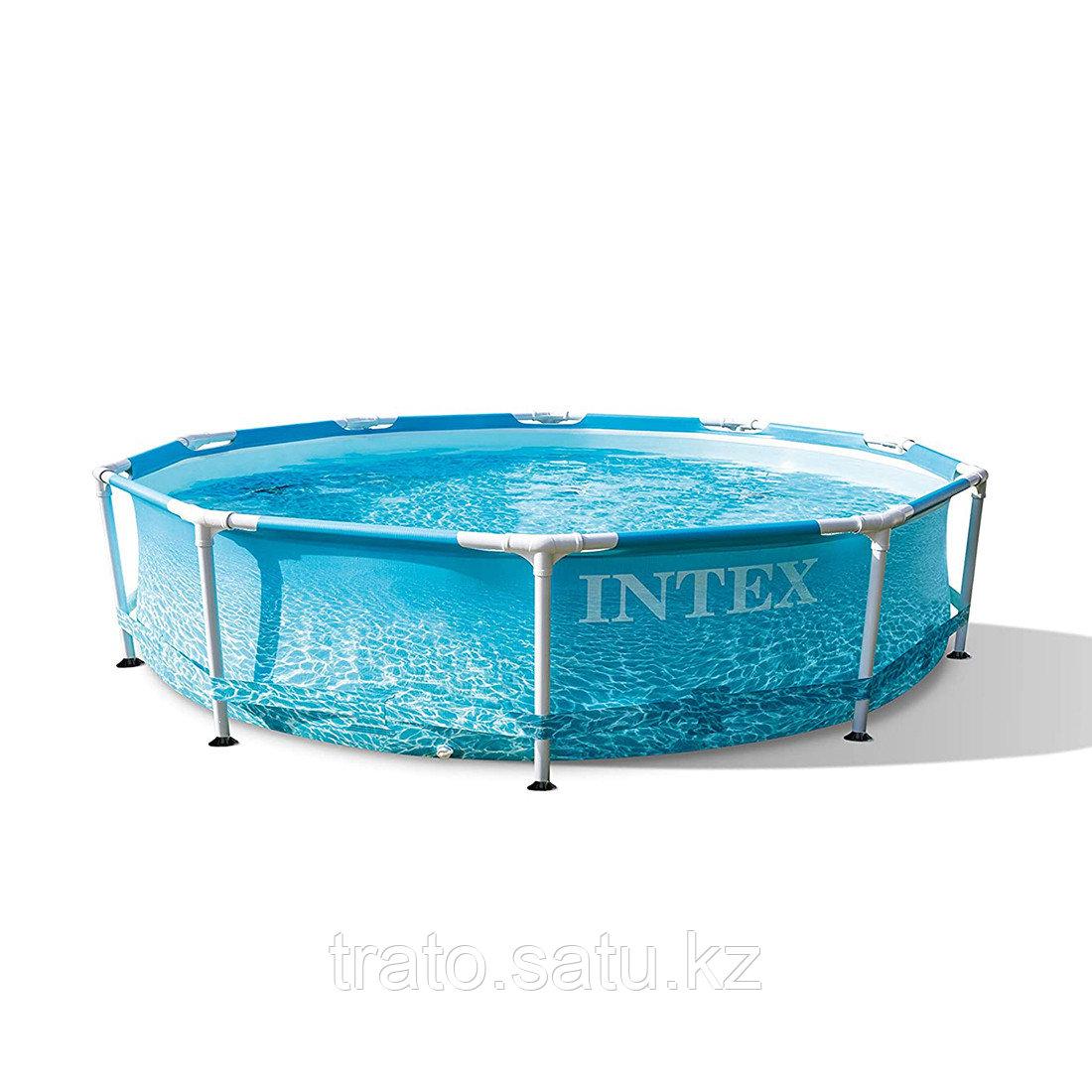 Каркасный бассейн 305 х 76 см Beachside Metal Frame